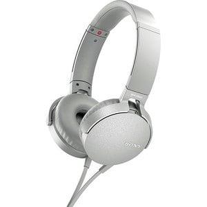Наушники Sony MDR-XB550AP white цена и фото