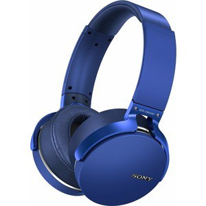 Наушники Sony MDR-XB950B1 blue наушники sony mdr ex15ap blue