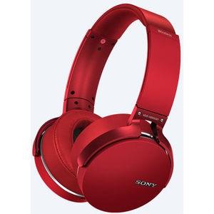 Наушники Sony MDR-XB950B1 red