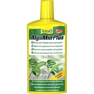 Препарат Tetra AlguMin для эффективного удаления водорослей в аквариуме 500мл препарат tetra biocoryn для разложения биологических загрязнений в аквариуме 24 капс