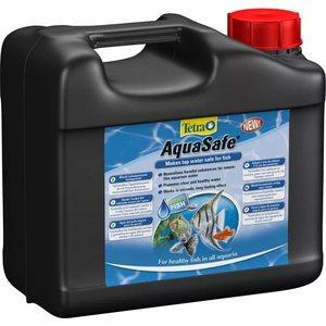 Кондиционер Tetra AquaSafe Makes Tap Water Safe for Fish подготовка водопроводной воды для аквариуме 5л кондиционер для воды tetra betta aquasafe для подготовки воды аквариума 100мл