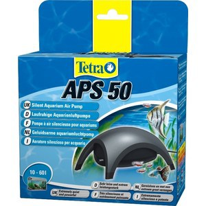 Компрессор Tetra APS 50 Silent Aquarium Air Pomp для аквариумов 10-60л компрессор tetra aps 100 silent aquarium air pomp white edition для аквариумов 50 100л белый