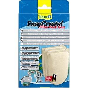 Картриджи Tetra EasyCrystal FilterPac C 600 фильтрующие без активированного угля для фильтра 3шт