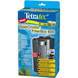 Фильтр Tetra EasyCrystal 600 Filter Box Internal Aquarium with Heater Compartment внутренний с обогревателем для аквариумов 100-130л