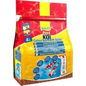 Корм Tetra Pond Koi Color & Growth Sticks Premium Food for All палочки для улучшения окраса и роста кои 4л