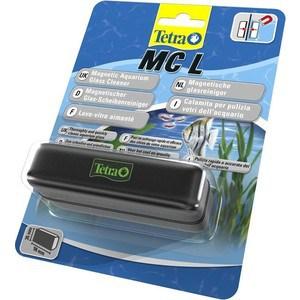 Скребок Tetra MC L Magnetic Aquarium Glass Cleaner магнитный для очищения стекол в аквариуме цена
