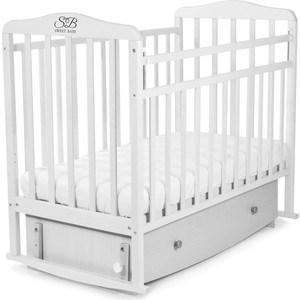 Кроватка Sweet Baby Luciano Bianco Белый 392624