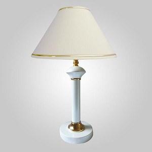 Настольная лампа Eurosvet 60019/1 глянцевый белый лампа настольная декоративная евросвет классика 60019 1