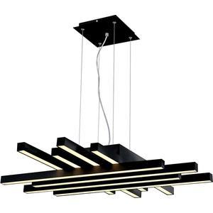 Подвесной светодиодный светильник Horoz Asfor черный 019-011-0085