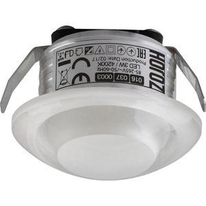Встраиваемый светодиодный светильник Horoz 3W 4200К 016-037-0003