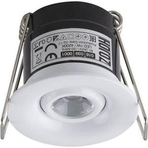 Встраиваемый светодиодный светильник Horoz 1W 4200К белый 016-039-0001