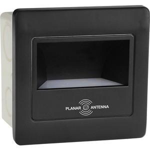 Встраиваемый светодиодный светильник Horoz 079-026-0002 черный встраиваемый светодиодный светильник horoz hl685l3match
