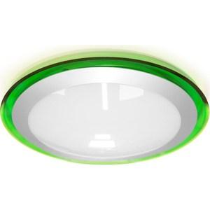 Потолочный светодиодный светильник Estares ALR-16 AC170-265V 16W d330*H70 мм Зеленый / Холодный белый недорго, оригинальная цена