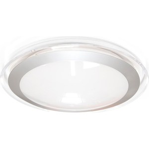 Потолочный светодиодный светильник Estares ALR-16 AC170-265V 16W d330*H70 мм Прозрачный / Холодный белый недорго, оригинальная цена