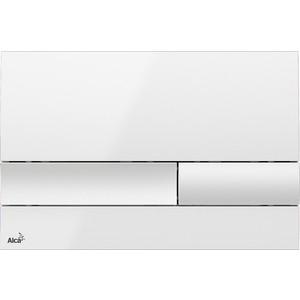 Кнопка смыва AlcaPlast белая (M1730)