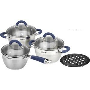цена на Набор посуды 7 предметов Vitesse Blue Arch (VS-2046)