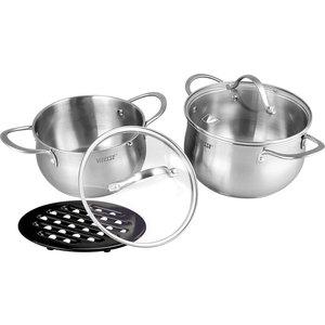 Набор посуды из 5 предметов Vitesse Melanie (VS-2061) melanie mcgrath hopping