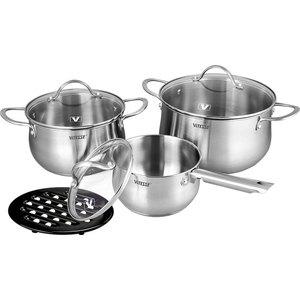 Набор посуды из 7 предметов Vitesse Melanie (VS-2062) набор посуды 5 предметов vitesse valentina vs 2057