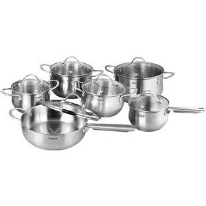 Набор посуды из 12 предметов Vitesse Melanie (VS-2063) набор посуды 6 предметов vitesse black and white vs 2902