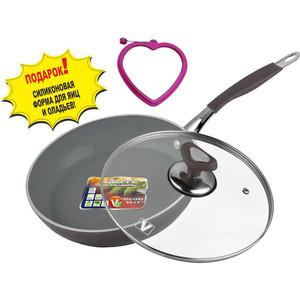 Сковорода с крышкой d 26 см Vitesse Renaissance (VS-2517)