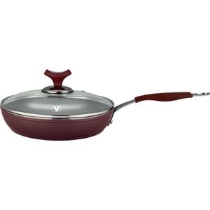 Сковорода с крышкой d 26 см Vitesse Renaissance (VS-2517 PRP)