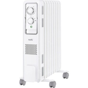 Масляный радиатор Ballu BOH/ST-05W 1000 масляный радиатор ballu style boh st 05w 1000 вт ручка для переноски термостат белый