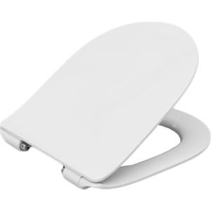 Сиденье для унитаза Roca Leon с микролифтом, тонкое, быстросъемное (ZRU9302943)