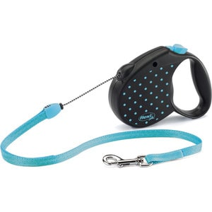 Рулетка Flexi Color S трос 5 м голубая для собак до 12кг