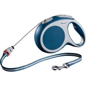 Рулетка Flexi VARIO M трос 8м синяя для собак до 20кг ldca пио спот для собак m 10 20кг