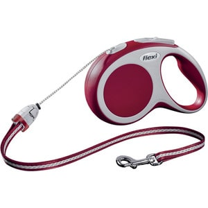 Рулетка Flexi VARIO S трос 8м красная для собак до 12кг цена и фото