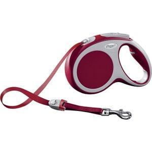 Рулетка Flexi VARIO М лента 5м красная для собак до 25кг