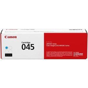 Картридж Canon 045C 1300 стр. (1241C002) картридж canon 045c 1241c002 для canon i sensys mf630 голубой
