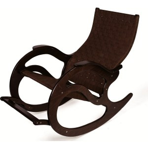Кресло-качалка Мебелик Тенария 2 темно-коричневый