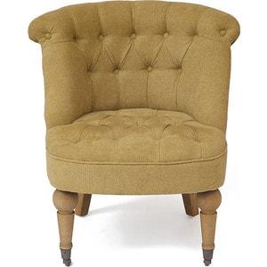 Кресло TetChair Secret De Maison Bunny (mod. CC1202) горчичный/ Miss-34 стул обеденный secret de maison luberon mod 5 доступные цвета коричневый с патиной