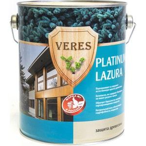 цена на Антисептик для дерева VERES PLATINUM LAZURA № 4 орех 2.7л.