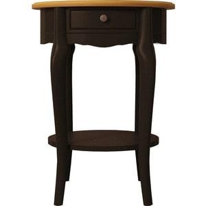 Стол кофейный Etagerca Leontina ST9331ETG/BLK 1 ящ стол журнальный etagerca leontina st9317etg blk