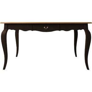Стол обеденный Etagerca Leontina ST9337M/ETG/BLK стол журнальный etagerca leontina st9317etg blk