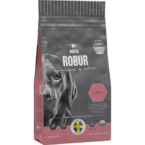 Сухой корм BOZITA ROBUR Light 19/08 для взрослых собак склонных к набору веса или с низким уровнем активности 12кг (14142)