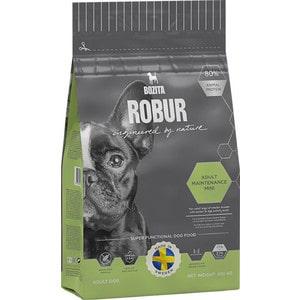 Сухой корм BOZITA ROBUR Adult Maintenance mini 27/17 для собак мелких и средних пород с нормальным и высоким уровнем активности 950г (14924) сухой корм bozita robur sensitive single protein lamb