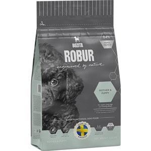 Сухой корм BOZITA ROBUR Mother & Puppy 30/15 с крокетами маленького размера для щенков, юниоров, беременных и кормящих собак 1,250кг (14524)