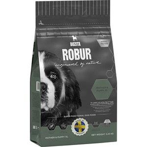 Сухой корм BOZITA ROBUR Mother & Puppy XL 28/14 для щенков, юниоров крупных пород, беременных и кормящих собак 3,25кг (14553) сухой корм bozita robur sensitive single protein lamb