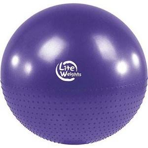 Фитбол Lite Weights BB010-30 (75см, с насосом, фиолетовый)