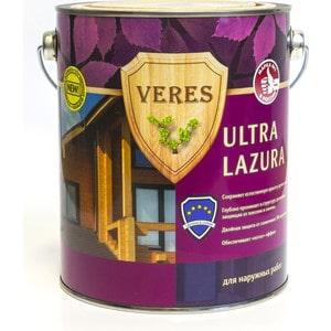 Антисептик для дерева VERES ULTRA LAZURA № 8 дуб темный 2.7л. цена