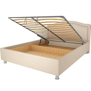 Кровать OrthoSleep Арно lite механизм и ящик Сонтекс Беж 160х200 кровать orthosleep арно lite жесткое основание сонтекс беж 160х200