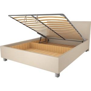Кровать OrthoSleep Римини lite механизм и ящик Сонтекс Беж 80х200 кровать orthosleep римини lite ортопед основание сонтекс беж 80х200