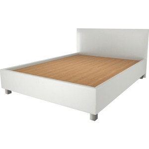 Кровать OrthoSleep Римини lite жесткое основание Сонтекс Милк 90х200