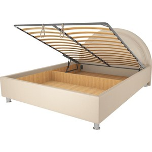 Кровать OrthoSleep Градо lite механизм и ящик Сонтекс Беж 120х200 цена