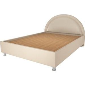 Кровать OrthoSleep Градо lite жесткое основание Сонтекс Беж 160х200 кровать orthosleep арно lite жесткое основание сонтекс беж 160х200