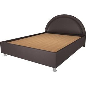 Кровать OrthoSleep Градо lite жесткое основание Сонтекс Умбер 200х200 кровать orthosleep кьянти lite ортопед основание сонтекс умбер 200х200