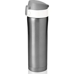 Термокружка 0.45 л Asobu Diva cup серая (V600 smoke-white)